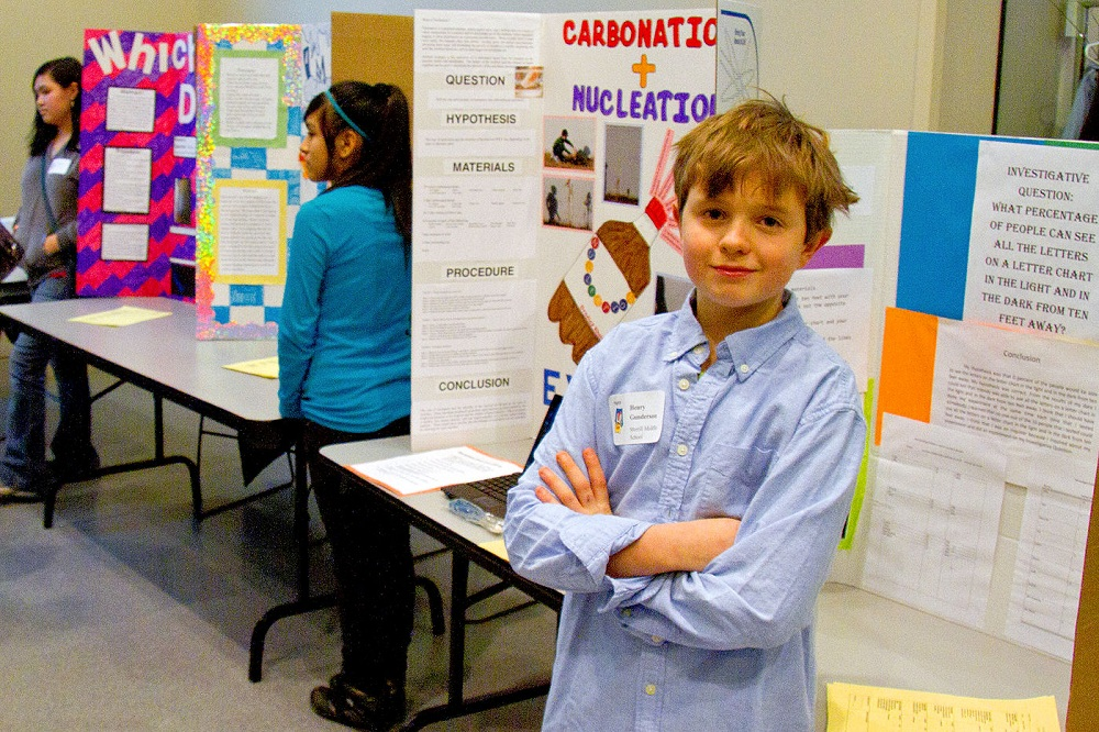 Youth science projects in Canada